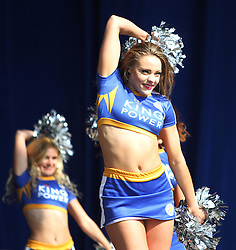Leicester City cheerleaders during the victory celebrations - Mandatory by-line: Jack Phillips/JMP - 16/05/2016 - FOOTBALL - Leicester City FC, Sky Bet Premier League Winners 2016 - Leicester City Victory Parade