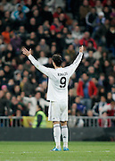 Real Madrid's Cristiano Ronaldo reacts during La Liga match, November 05, 2009.