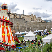 Tower of London Food Festival on 8th September 2018, London, UK