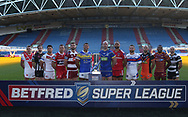 X during the media launch for the Betfred Super League 2018 season at the John Smiths Stadium, Huddersfield<br /> Picture by Stephen Gaunt/Focus Images Ltd +447904 833202<br /> 25/01/2018