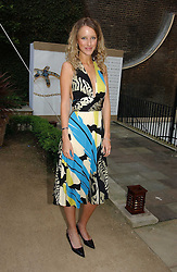 KATE MELHUISH at the annual Michele Watches Summer Party held in the gardens of Home House, 20 Portman Square, London W1 on 15th June 2006.<br />