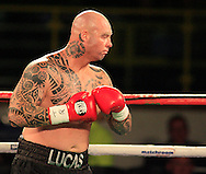 Picture by Richard Gould/Focus Images Ltd +44 7855 403186<br /> 02/11/2013<br />  Lucas Browne (black) at Hull Ice Arena, Hull.