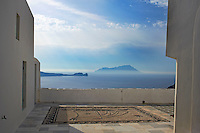 Grece, Cyclades, ile de Milos, ville de Plaka capitale de Milos // Greece, Cyclades islands, Milos, Plaka city the island capital