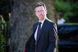 London, UK. 21 May, 2019. Jeremy Wright QC MP, Secretary of State for Digital, Culture, Media and Sport, arrives at 10 Downing Street for a Cabinet meeting.