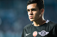AVELLANEDA, BUENOS AIRES, ARGENTINA - 2017 NOVEMBER 01. Club Libertad (19) Jesus Manuel MEDINA during the Copa Sudamericana quarter-finals 2nd leg match between Racing Club de Avellaneda and Club Libertad at Estadio Juan Domingo Perón,  <br /> ( Photo by Sebastian Frej )