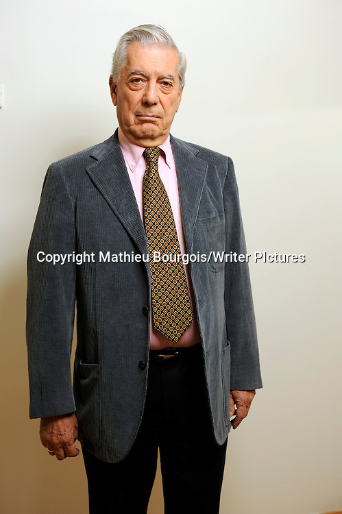 Mario Vargas LLosa<br /> <br /> copyright Mathieu Bourgois/Writer PIctures<br /> contact +44 (0)20 822 41564<br /> info@writerpictures.com <br /> www.writerpictures.com