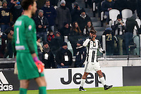 can - 11.01.2017 - Torino - Coppa Italia Tim  -  Juventus-Atalanta nella  foto: Paulo Dybala esulta dopo il gol