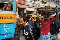 Inde, Bengale-Occidental, Kolkata, vieux tramway // India, West Bengal, Kolkata, Calcutta, old tramway