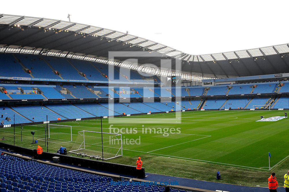 Picture by Ste Jones/Focus Images Ltd.  07706 592282.24/9/11.Etihad Stadium, Manchester.