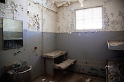 Port Sulphur jail abandoned after Hurricane Katrina; south Louisiana's Highway 23