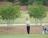 Oxford High's Turner Arnold on the 7th hole during the opening round of the MHSAA Class 5A state championship golf tournament at the Ole Miss Golf Course in Oxford, Miss. on Wednesday, May 1, 2013.