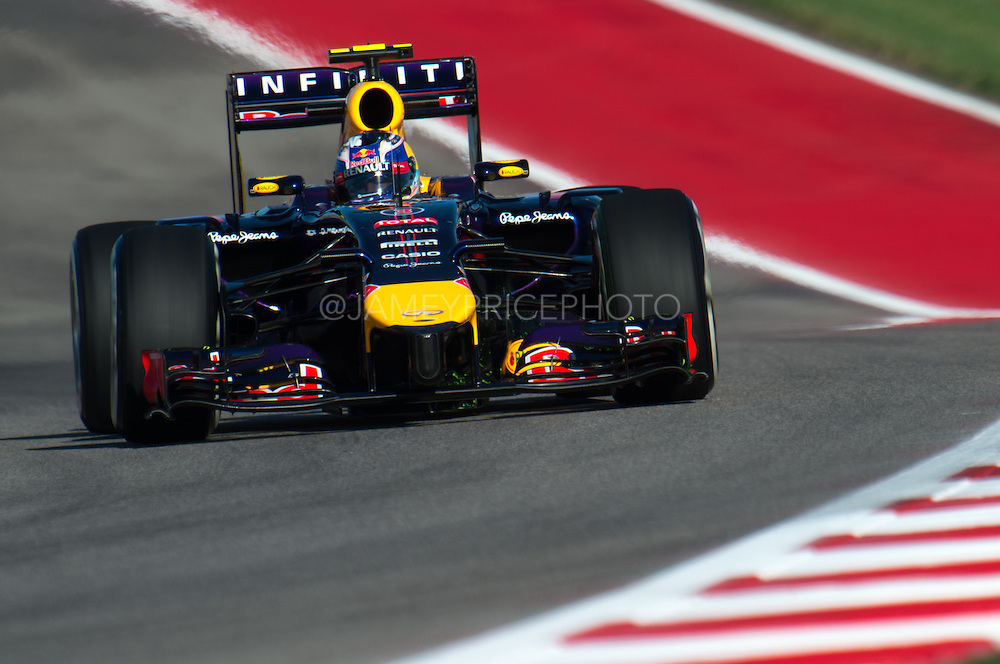 October 30-November 2 : United States Grand Prix 2014, Daniel Ricciardo (AUS), Red Bull-Renault