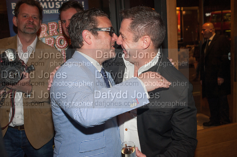 The press night performance of the Menier Chocolate Factory's 'Merrily We Roll Along', following its transfer to the Harold Pinter Theatre, After-show party at Grace Restaurant, Gt. Windmill St. London. 1 May 2013.