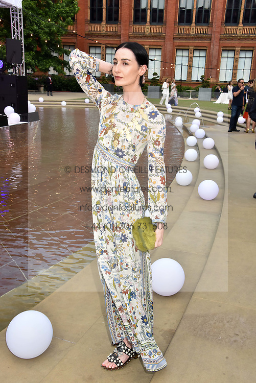 Erin O'connor at the Victoria & Albert Museum's Summer Party in partnership with Harrods at The V&A Museum, Exhibition Road, London, England. 20 June 2018.