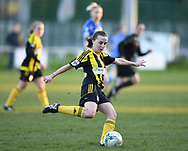 Abergavenny FC Women v Cardiff City FC<br /> <br /> Photographer Mike Jones / Replay Images<br /> Pen-Y-Pound, Abergavenny <br /> Wales - 2nd May 2018<br /> Abergavenny FC Women v Cardiff City FC Welsh Premier Women's League<br /> <br /> World Copyright &copy; Replay Images . All rights reserved. info@replayimages.co.uk - http://replayimages.co.uk
