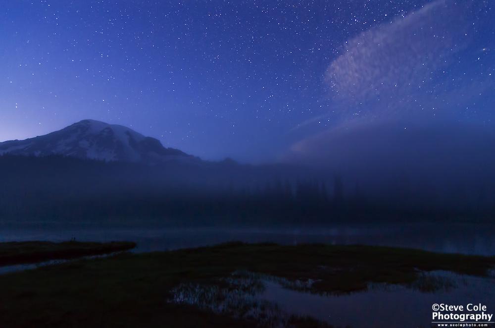 Stars So Bright - Mount Rainier National Park