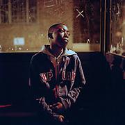 G.B. London. Crunch, an MC, Poplar, East London. 2005.