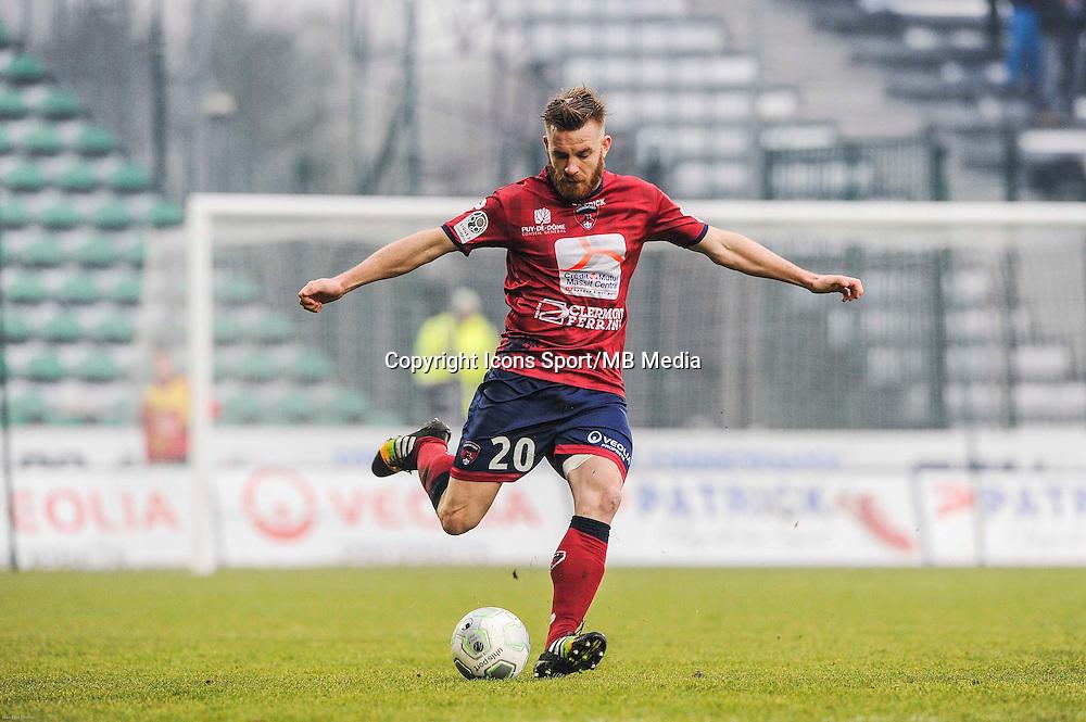 Jacques SALZE - 24.01.2015 - Clermont / Chateauroux  - 21eme journee de Ligue2<br />Photo : Jean Paul Thomas / Icon Sport