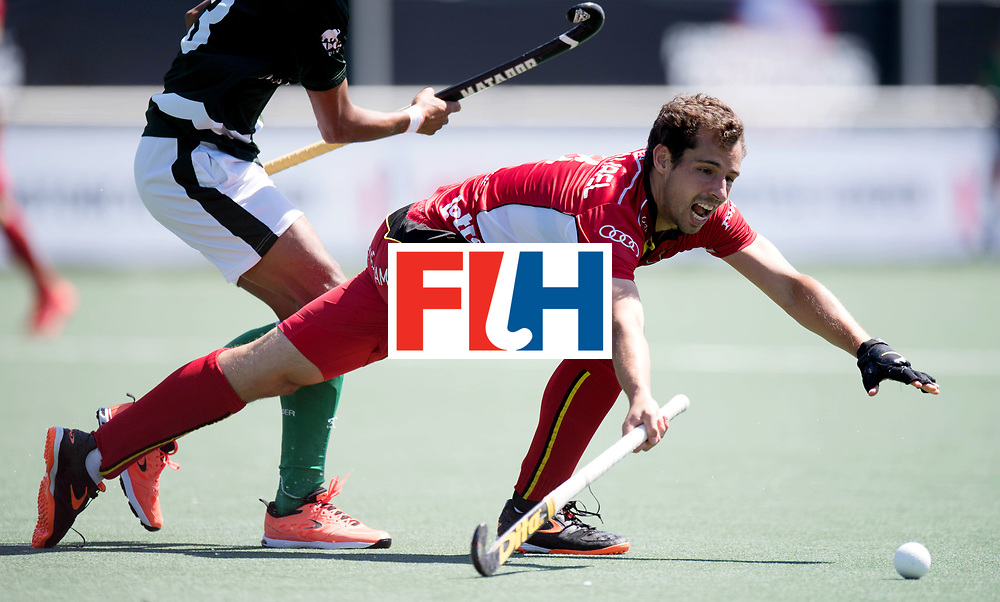 BREDA - Rabobank Hockey Champions Trophy<br /> 5th/6th place Belgium - Pakistan<br /> Photo: Florent van Aubel.<br /> COPYRIGHT WORLDSPORTPICS FRANK UIJLENBROEK