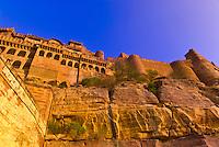 Mehrangarh Fort, Jodhpur, Rajasthan, India