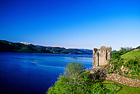 Urquhart Castle, Loch Ness,near Drumnadrochit, Scottish Highlands, Scotland