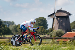 DOWSETT Alex from GREAT BRITAIN during Men Elite Time Trial at 2019 UEC European Road Championships, Alkmaar, The Netherlands, 8 August 2019. <br /> <br /> Photo by Pim Nijland / PelotonPhotos.com<br /> <br /> All photos usage must carry mandatory copyright credit (Peloton Photos | Pim Nijland)