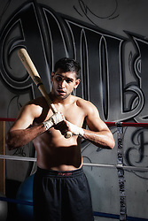 Exclusive Amir Khan shoot for SEEN Sport Magazine at the Wildcard Gym, Los Angeles, USA. 3rd November 2010.<br /> <br /> ** IMPORTANT NOTICE **<br /> A minimum usage of &pound;150 applies to this image<br /> THE IMAGE MUST BE CREDITED:<br /> www.seensportmagazine.com