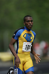 Hamilton, Ontario ---07/06/08--- Merid Seleshi of Birchmount Park in Scarborough competes in the 800 meters at the 2008 OFSAA Track and Field meet in Hamilton, Ontario..GEOFF ROBINS