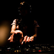 A DJ plays music at Almost Famous, a club in Busan, South Korea.