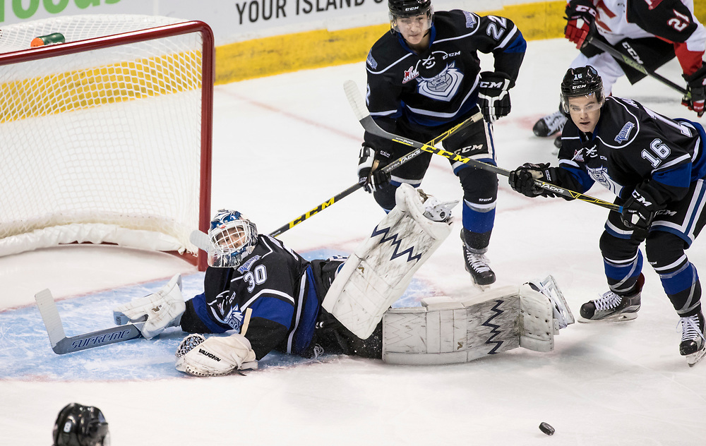 The Victoria Royals fall 3-1 to the Prince George Cougars in WHL regular season play on Wednesday September 23, 2016