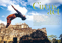 Phare Circus in Siem Reap, Cambodia, shot for Silk Air.