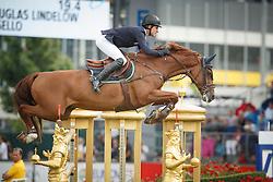 Lindelow Douglas, (SWE), Casello<br /> Individual Final Competition<br /> FEI European Championships - Aachen 2015<br /> © Hippo Foto - Dirk Caremans<br /> 23/08/15