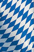 Bayerische Flagge, Rauten, blau-weißBayern, Deutschland | Bavarian flag, Bavaria, Germany
