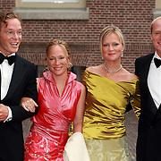 NLD/Apeldoorn/20070901 - Viering 40ste verjaardag Prins Willem Alexander, aankomst Jaime, Carolina, Carlos, Margarita