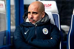 Manchester City manager Pep Guardiola - Mandatory by-line: Robbie Stephenson/JMP - 20/01/2019 - FOOTBALL - The John Smith's Stadium - Huddersfield, England - Huddersfield Town v Manchester City - Premier League