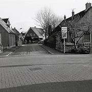 NLD/Huizen/19950111 - Kerstraat Huizen vanaf Startravel naar Gemeentehuis