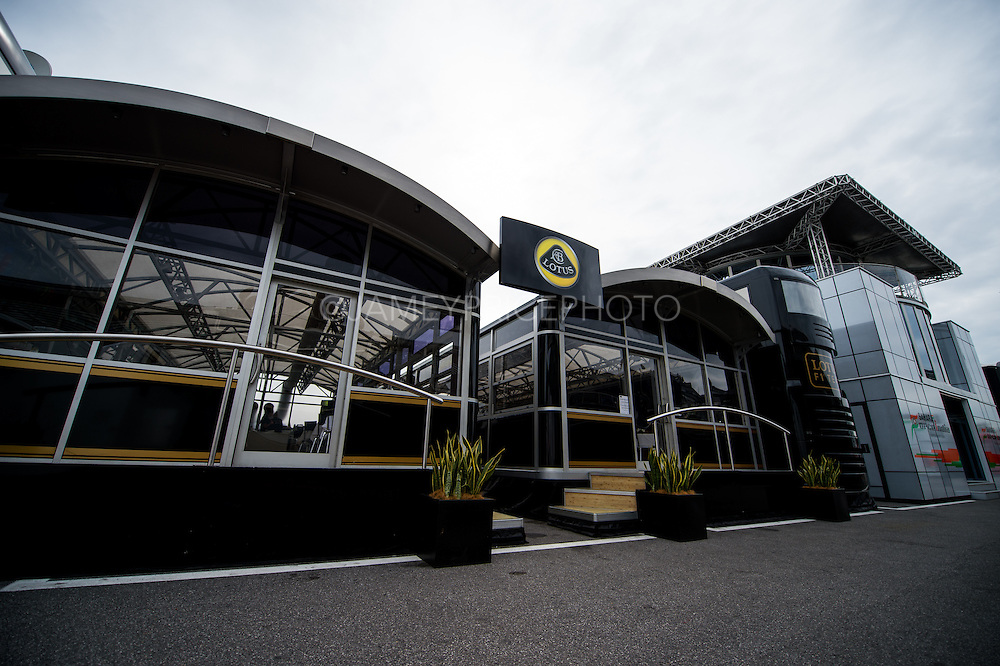 September 3-5, 2015 - Italian Grand Prix at Monza: Lotus motorhome