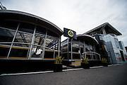 September 3-5, 2015 - Italian Grand Prix at Monza: Lotus motorhome