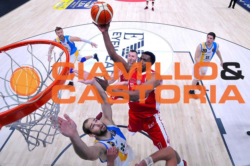 McLean Jamel<br /> Olimpia EA7 Emporio Armani Milano - Vanoli Cremona<br /> Lega Basket Serie A 2016/2017<br /> PlayOff semifinale gara 2<br /> Milano 14/05/2017<br /> Foto Ciamillo-Castoria / I.Mancini