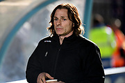 Wycombe Wanderers manager Gareth Ainsworth during the The FA Cup match between Wycombe Wanderers and Tranmere Rovers at Adams Park, High Wycombe, England on 20 November 2019.