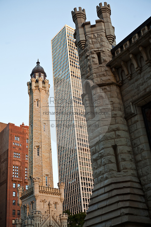 Chicago Water Tower along the Magnificent Mile Chicago, IL