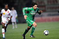 FOOTBALL - FRENCH CHAMPIONSHIP 2010/2011 - L1 - AS NANCY v AS SAINT ETIENNE - 27/11/2010 - PHOTO GUILLAUME RAMON / DPPI - EMMANUEL RIVIERE (ASSE)