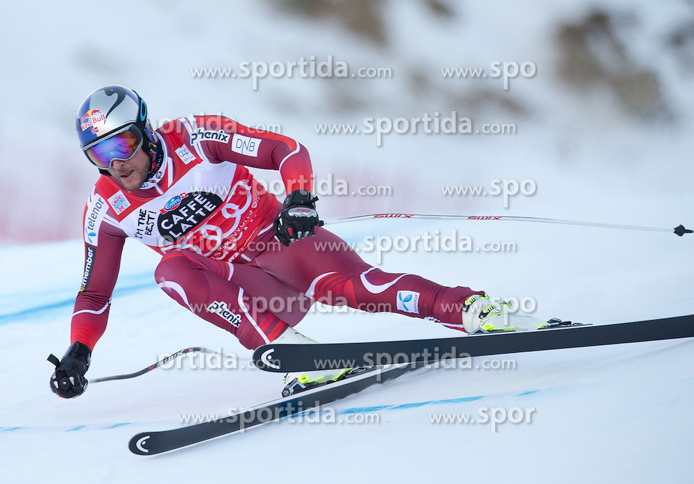 28.12.2015, Deborah Compagnoni Rennstrecke, Santa Caterina, ITA, FIS Ski Weltcup, Santa Caterina, Abfahrt, Herren, 2. Training, im Bild Aksel Lund Svindal (NOR) // Aksel Lund Svindal of Norway in action during the 2nd practice run of men's Downhill of the Santa Caterina FIS Ski Alpine World Cup at the Deborah Compagnoni Course in Santa Caterina, Italy on 2015/12/28. EXPA Pictures © 2015, PhotoCredit: EXPA/ Johann Groder