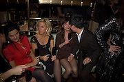 Vanessa Miedler, Dom Perignon and Claudia Schiffer host a celebration of Dom Perignon Oenotheque 1995. The Landau, Portland Place. London W1. 26 February 2008.  *** Local Caption *** -DO NOT ARCHIVE-© Copyright Photograph by Dafydd Jones. 248 Clapham Rd. London SW9 0PZ. Tel 0207 820 0771. www.dafjones.com.
