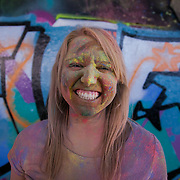 Georgina Loe. More than a hundred 16 - 25 yr olds joined a creative paint-fuelled event to express their support for the Enough Food IF campaign. While making the video was a fun and colourful process, the message remains a serious one: global hunger is outrageous and unacceptable.
