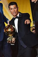 Zuerich, 12.1.2015, FIFA Ballon d'Or 2014, Cristiano Ronaldo gewinnt den FIFA Ballon d`Or 2014. (Melanie Duchene/EQ Images)