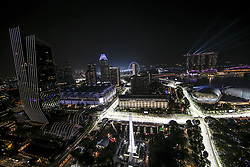 September 20, 2019, Singapore, Singapore: Motorsports: FIA Formula One World Championship 2019, Grand Prix of Singapore, ..General overview  (Credit Image: © Hoch Zwei via ZUMA Wire)