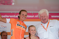 Chantal Blaak (Boels Dolmans) retains the race lead after the 111 km Stage 4 of the Boels Ladies Tour 2016 on 2nd September 2016 in 's-Hertogenbosch, Netherlands. (Photo by Sean Robinson/Velofocus).