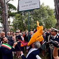 Roma dedica una piazza a Martin Lutero