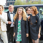 NLD/Amsterdam/20150530 - Amsterdamdiner 2015, Nicoline Wisse Smit, Willemijn Verloop, ..............